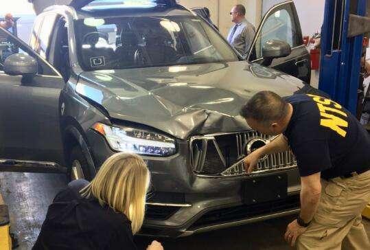 Uber 致命车祸调查结果公布,汽车发现行人但未紧急刹车