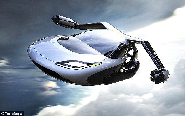 量产飞行汽车将于2019年开卖 由沃尔沃旗下Terrafugia制造