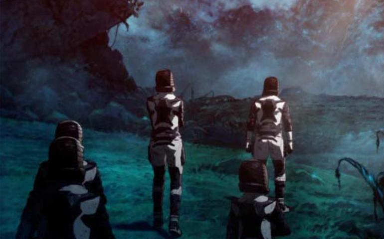 《哥斯拉:怪兽行星》北京首映礼 观众惊呼特效过瘾