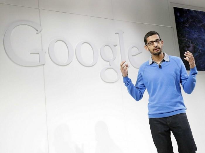 皮查伊回应人工干预搜索结果:谷歌的产品不会跟任何政治相连