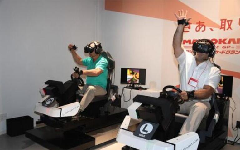 大受欢迎的《马里奥赛车》VR版将进军美国实体店