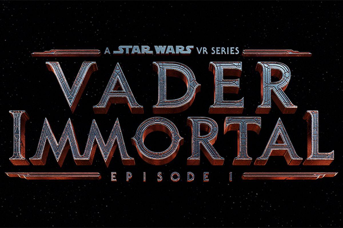 VR独占,《Vader Immortal:星战 VR 系列》将登陆 Oculus Quest