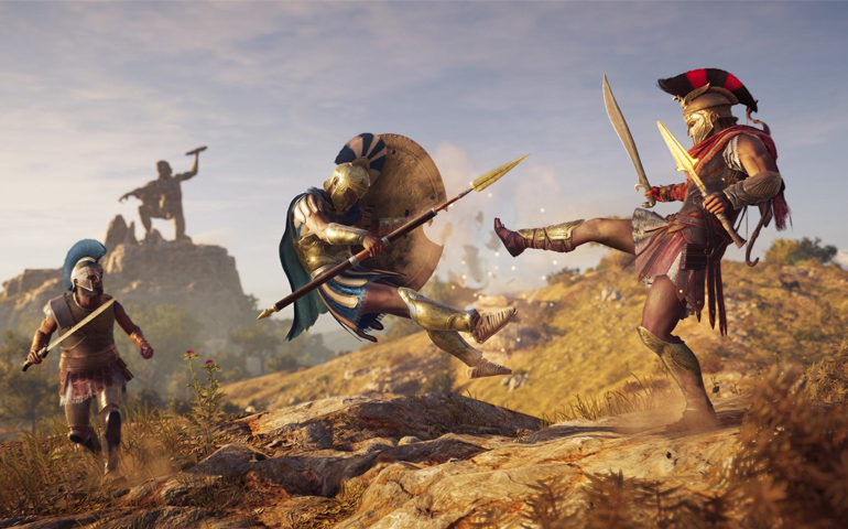 Steam一周销量榜TOP10:刺客信条卫冕 两款国产游戏在列
