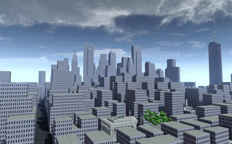 《漫威蜘蛛侠》早期城市建模设计图公开