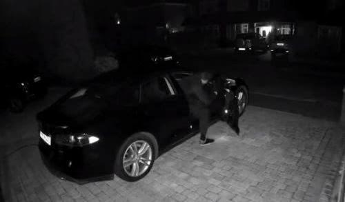 特斯拉车主公布Model S被盗细节:窃贼50秒打开车门,3分钟将车开走