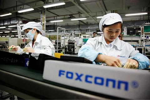 日媒:富士康苹果生产线裁员已至5万人
