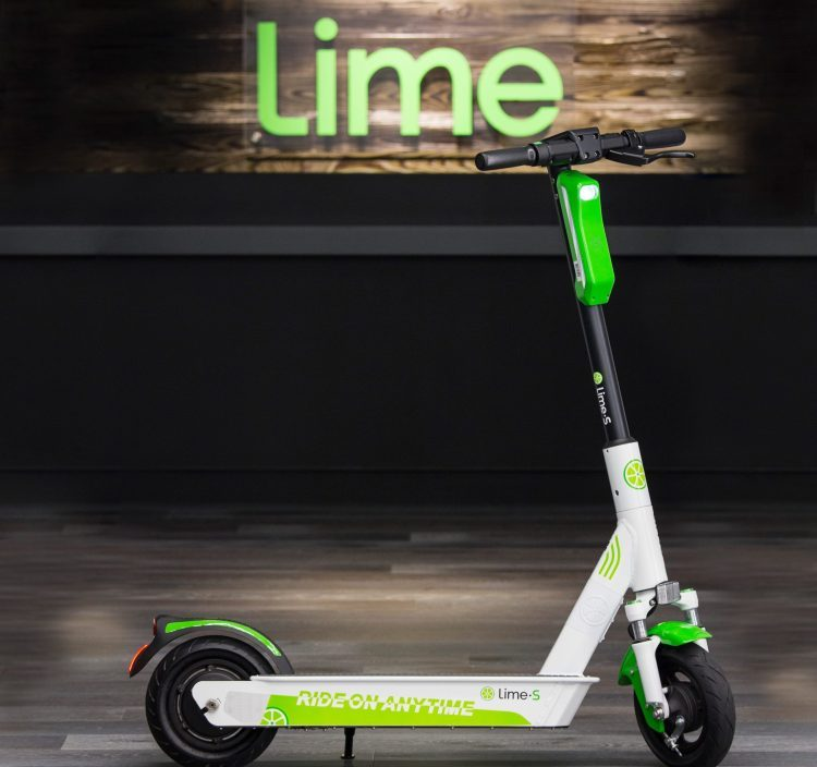 美共享出行公司Lime融资3.1亿美元 估值24亿美元