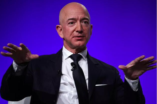贝索斯登美国慈善排行榜首 2018年捐款额超盖茨