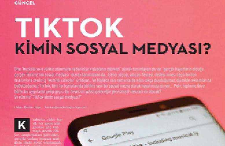 TikTok登上土耳其知名刊物:受各年龄段用户喜爱