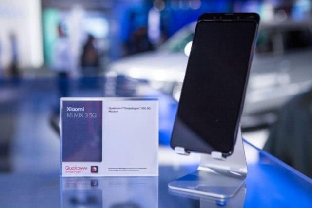 小米MWC发布5G版MIX3,售价599欧元