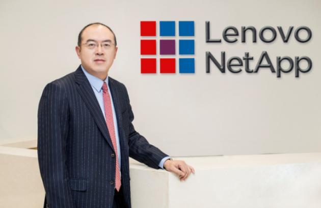 """联想与NetApp成立合资公司""""联想凌拓"""" 陆大昕任CEO"""