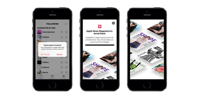 苹果推出9.9美元包月旧事订阅办事 《华尔街日报》确定参加