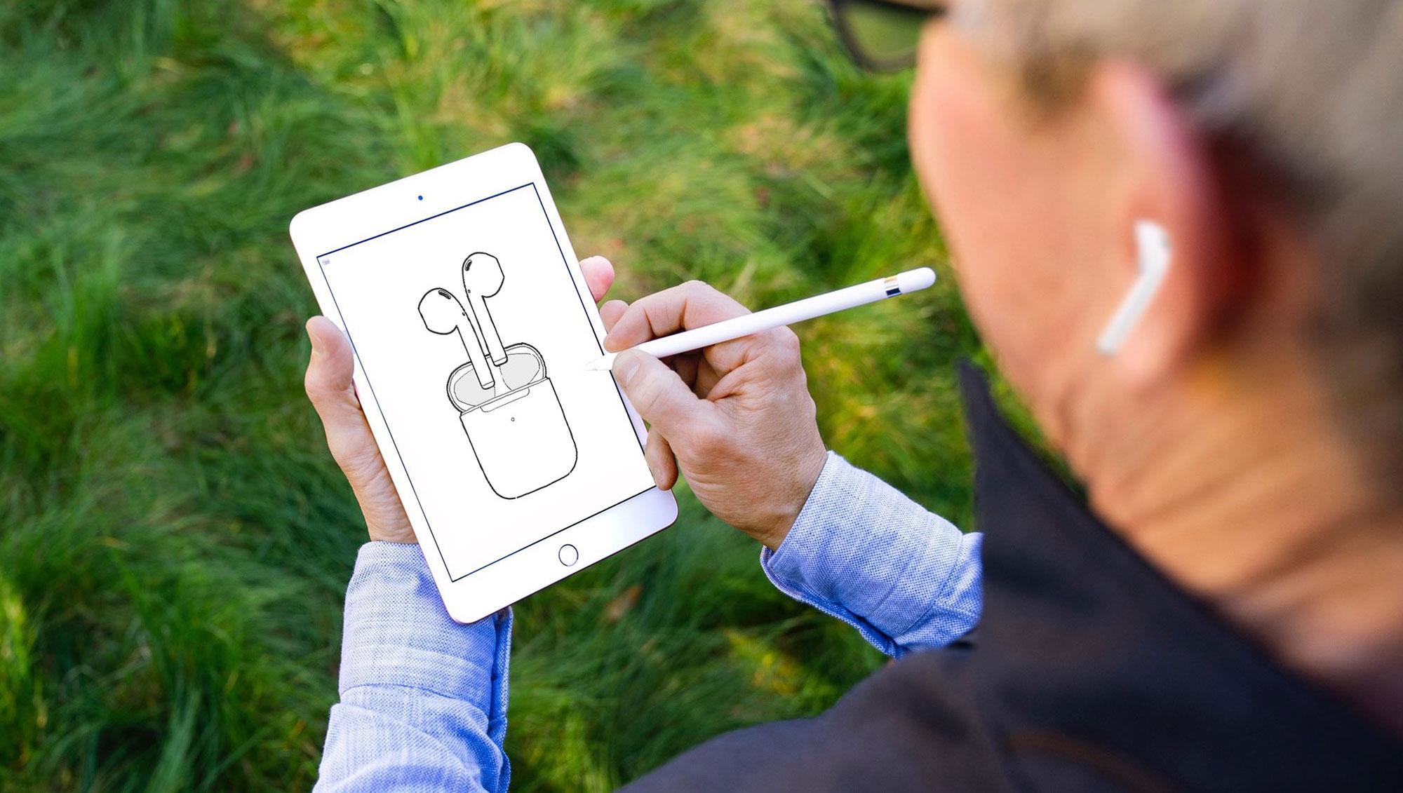 库克发照宣传苹果新AirPods 引发网友PS恶搞
