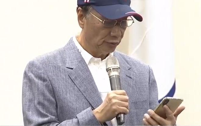 郭台铭谈事业:谁想接替我的位置,谁就应该比我更努力