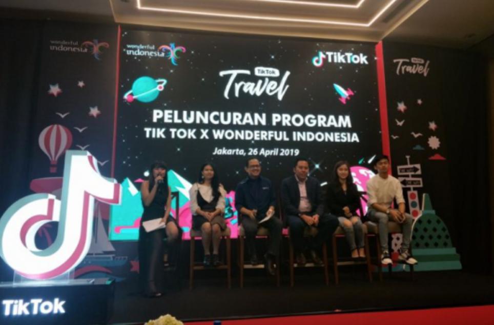 """TikTok与印尼旅游部达成合作 ,联合推出""""TikTok Travel""""计划"""