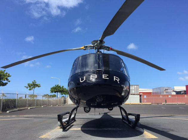 Uber7月將在美國紐約推出直升機服務 每趟最低200美元