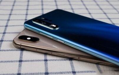 华为高端手机销量2019年一季度首超iPhone 登顶中国市场