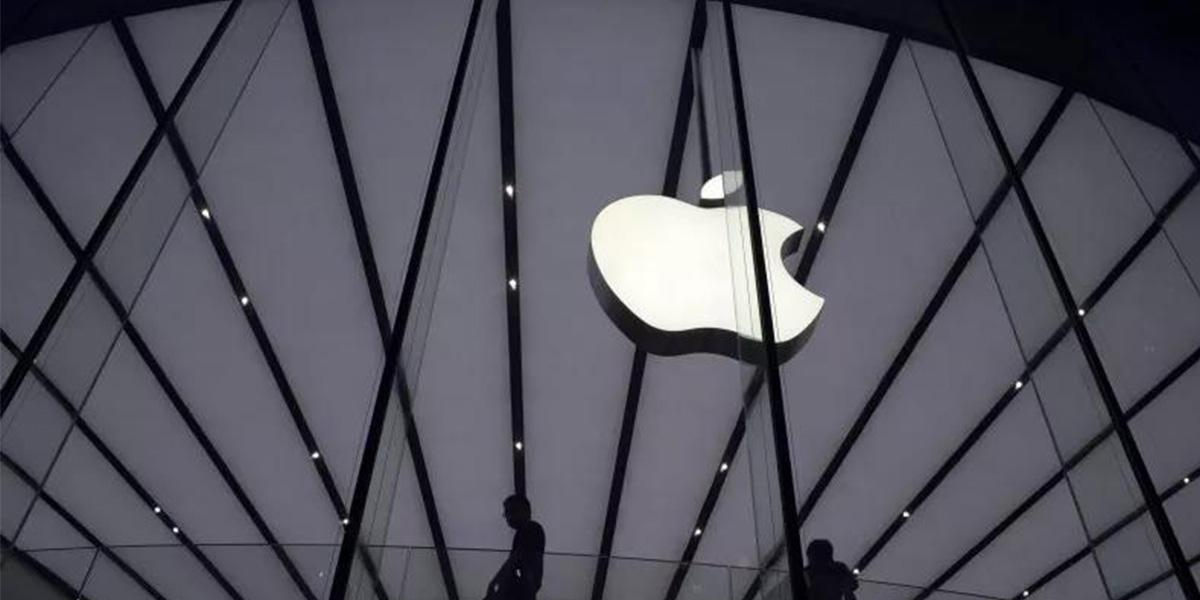 苹果周三股价涨超2% 盘中市值一度重返1万亿美元