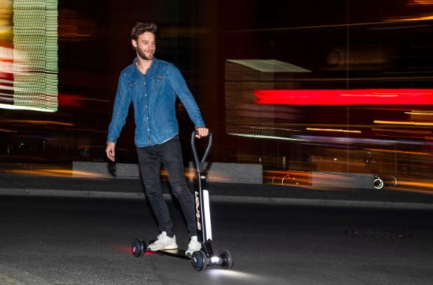 奧迪計劃2020年售賣E-Tron電動滑板車 價格約2200美元