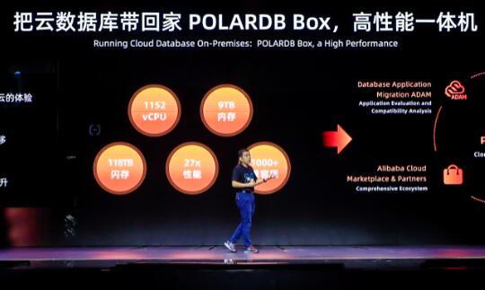 阿里云推出全面兼容Oracle的高性能一体机POLARDB BOX