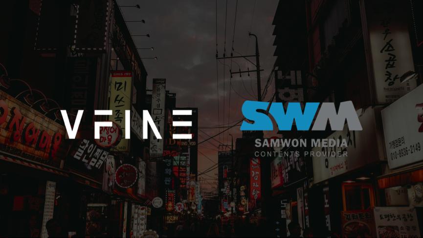 VFine与韩国综合娱乐集团SWM战略合作 加速全球化业务拓展