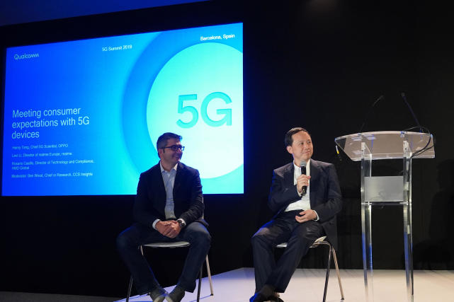 OPPO称年底前全球首发高通双模5G手机