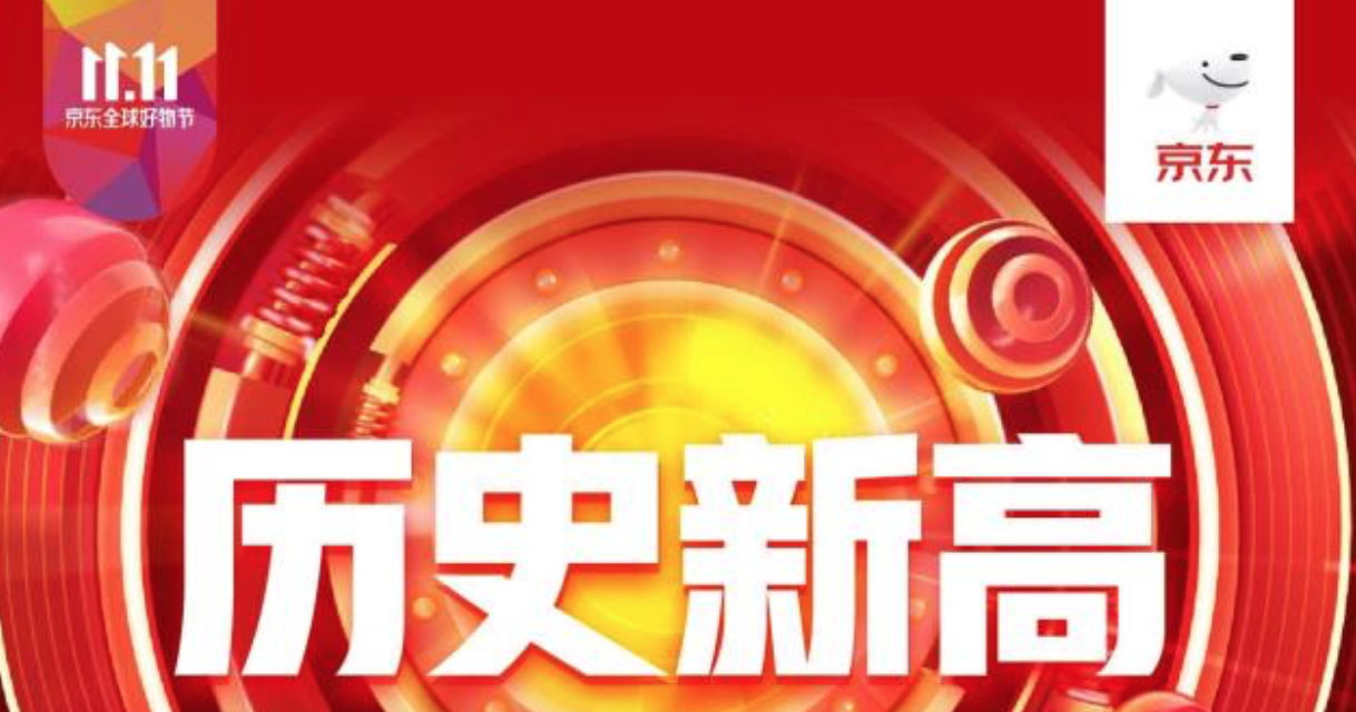 """2019年""""11.11京東全球好物節""""累計下單金額超2044億元"""