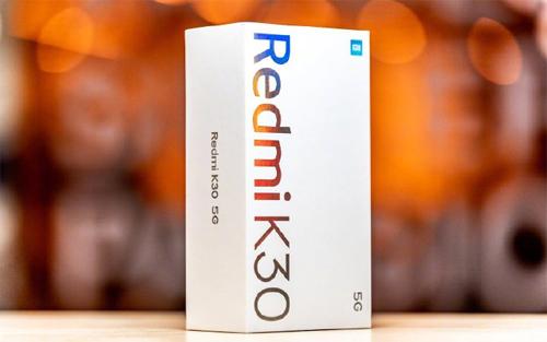 小米雷军微博晒Redmi K30 5G包装盒 称很漂亮
