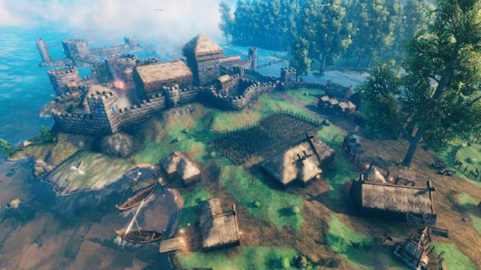 《英灵神殿》迎来版本更新 地形修改系统升级