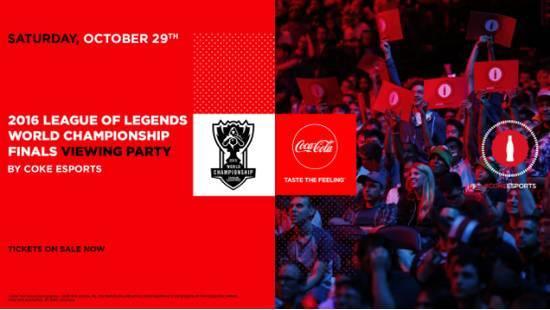 可口可乐赞助S6总决赛