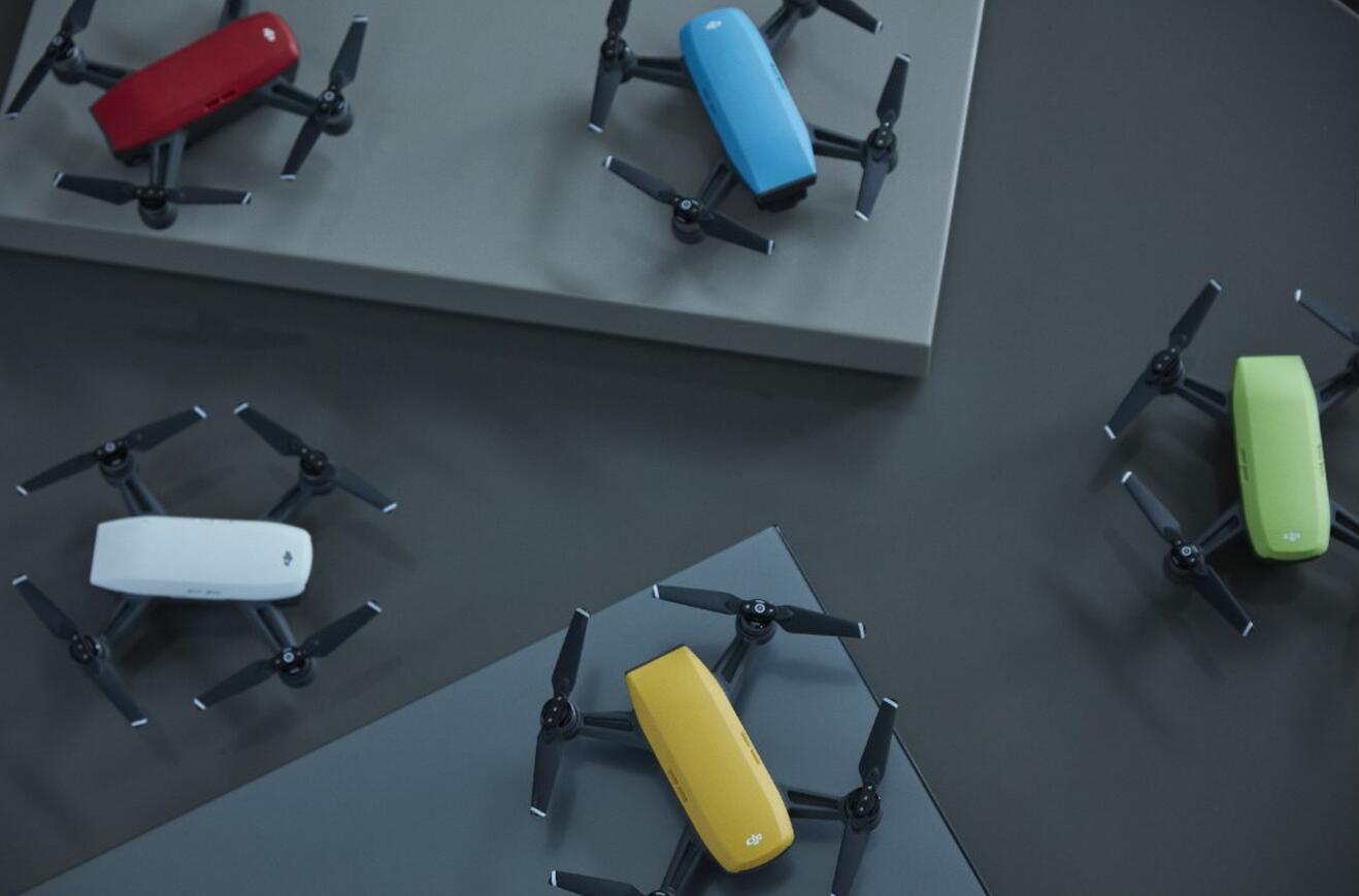 大疆发布首款掌上无人机 首次开启人脸检测