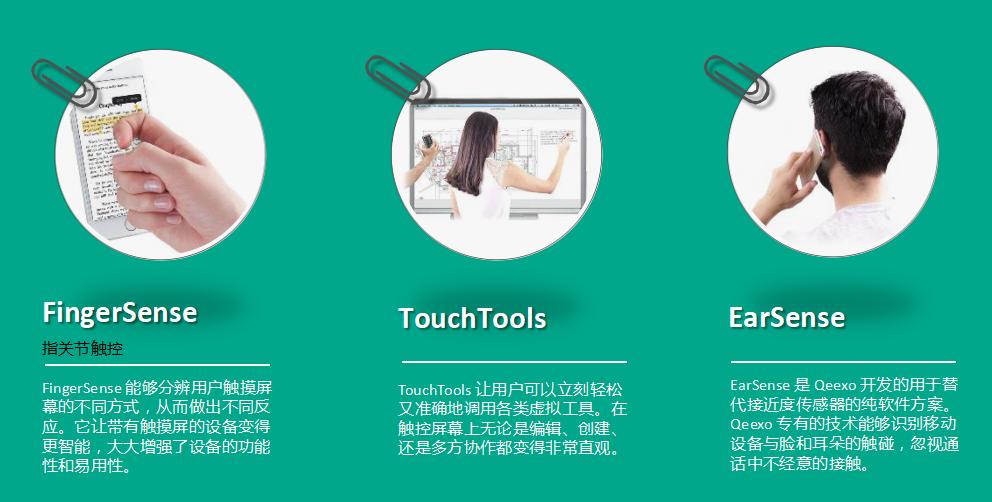 奇手科技与华为合作 产生指关节触控引发热捧!