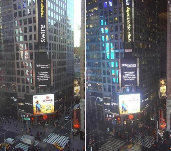 一二传媒:如何避免上了假的美国纽约时代广场?