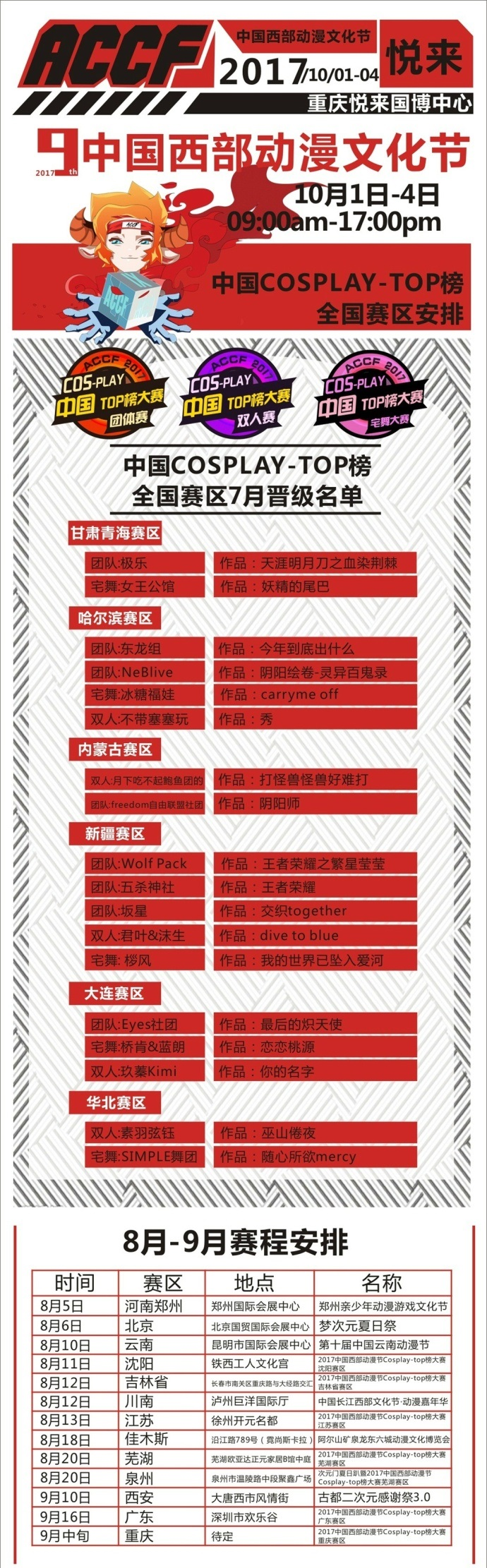 古都二次元感谢祭3.0暨2017西部动漫节陕西赛区预选赛 漫展 第3张
