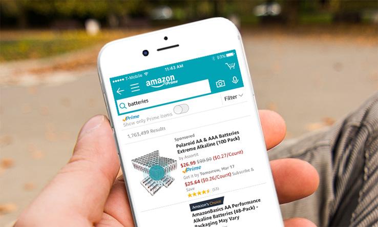 亚马逊上线订餐服务!用户可在应用内下单支付