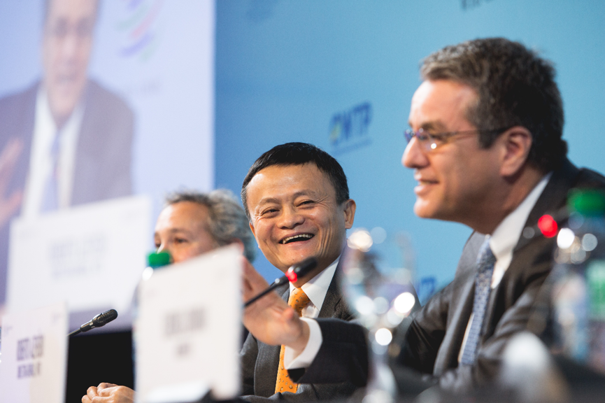 eWTP联手WTO 马云盛邀160位部长:欢迎来阿里 一切都是透明的
