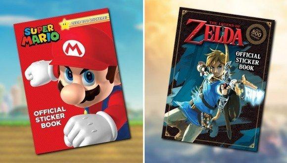 任天堂出版5本兒童圖書 以貼紙迷宮等形式講馬里奧等角色故事