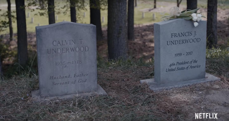 《纸牌屋》最终季:凯文·史派西以死退场罗宾·怀特挑起大梁