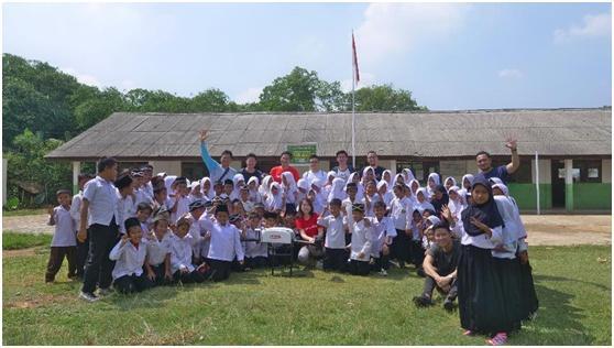 京东达沃斯宣布无人机印尼首飞:中国物流无人机实现首次海外飞行