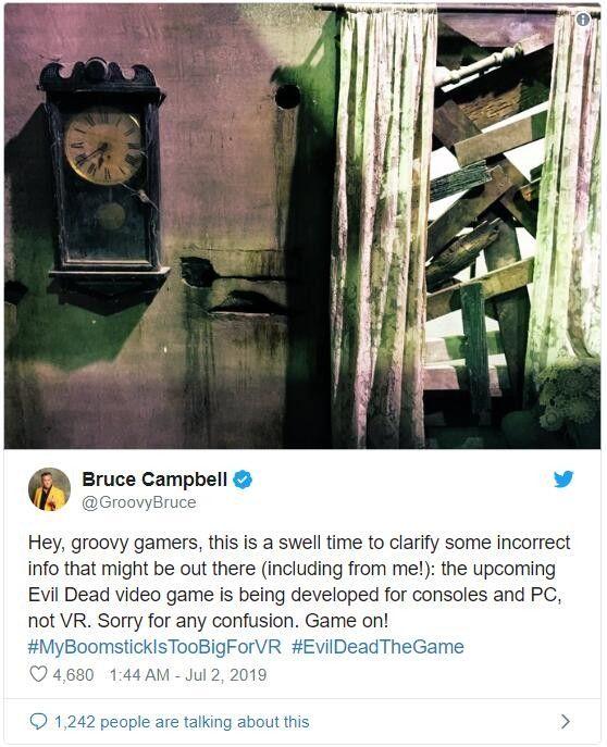 《鬼玩人》正制作改编游戏 计划登录主机和PC