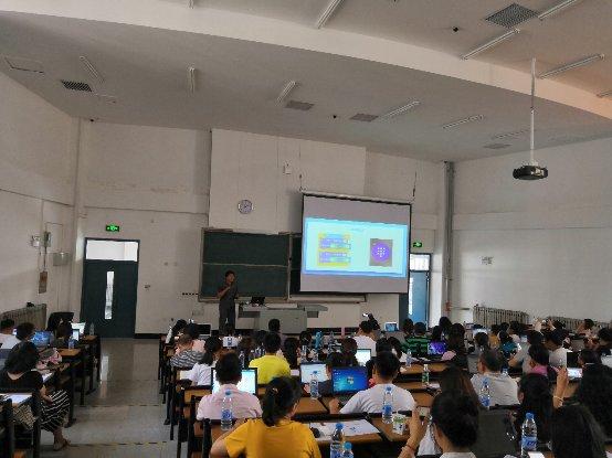 小象编程走进天津市青少年人工智能教育培训课堂