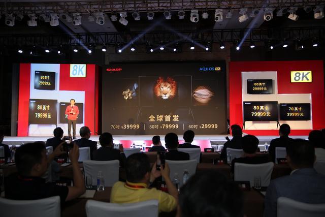 夏普助力东京奥运会8K直播世界首秀 蛰伏2019抢占8K先机