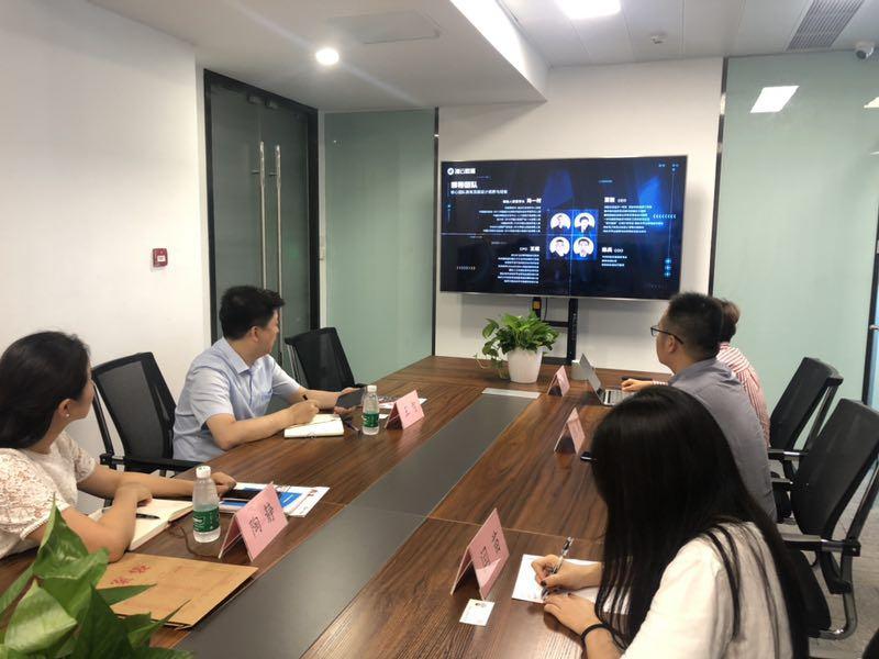 西安市经济技术开发区招商二局副局长王智到访海云数据