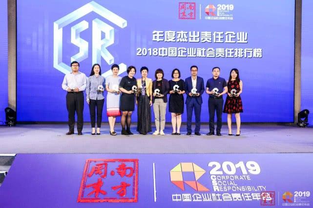 腾讯荣登2018年中国企业社会责任排行榜第一名