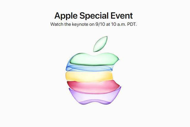 苹果正式发出邀请函:将于9月10日召开秋季新品发布会
