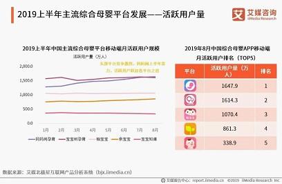 艾媒2019捕鱼大亨网络版母婴综合平台报告