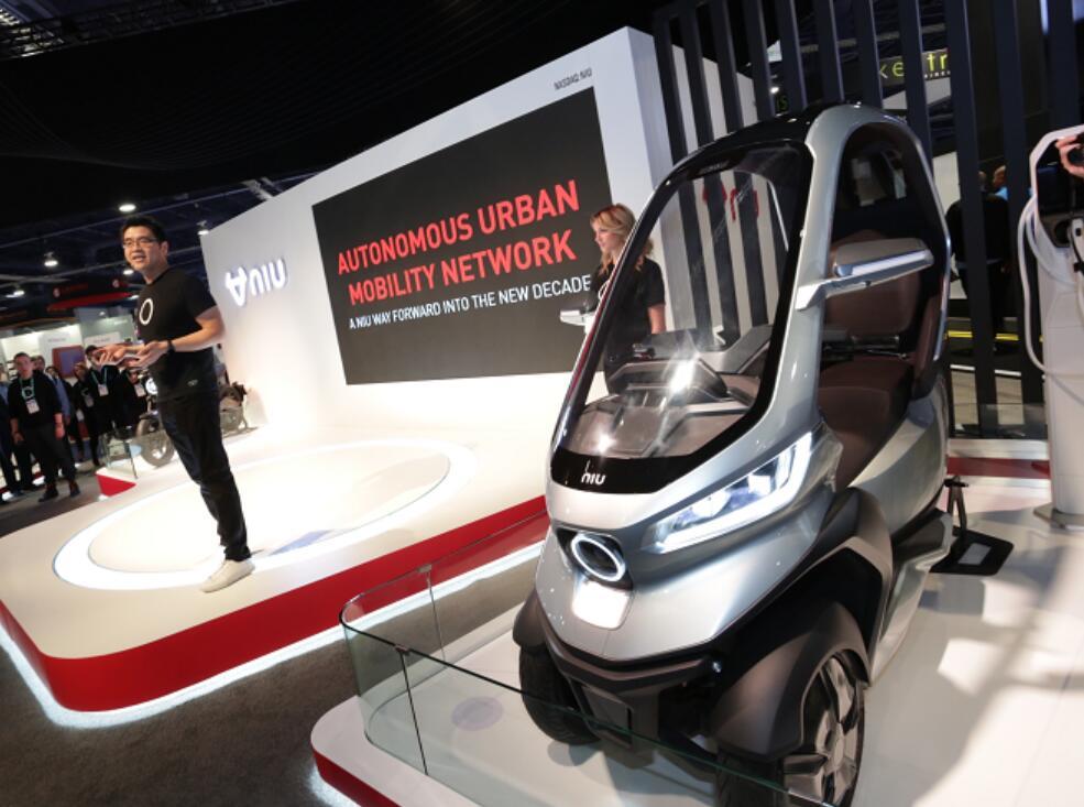 小牛發布首款自動駕駛三輪電動摩托 支持5G通訊和L2級別體驗
