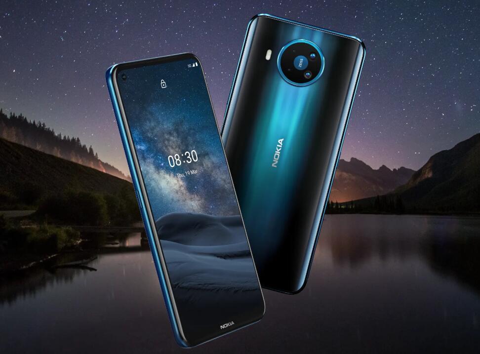 諾基亞首款5G手機發布 挖孔屏設計 搭載驍龍765G