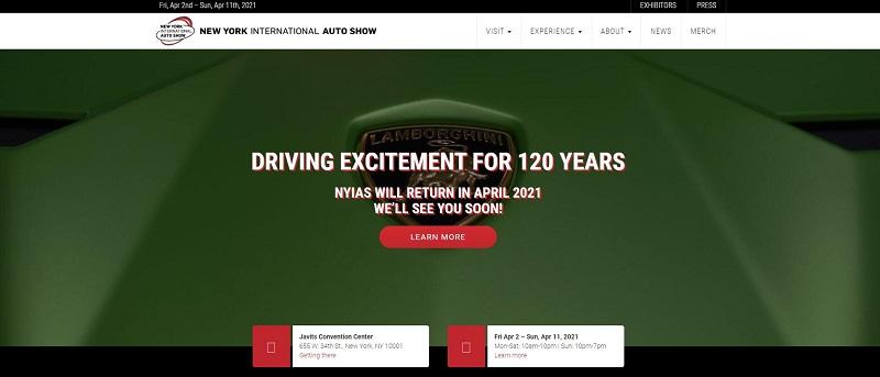 2020年纽约车展宣布正式取消