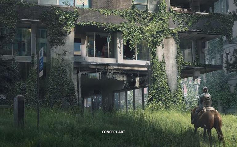 《最后的生还者2》最新概念插画公开